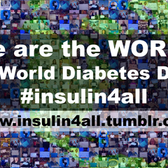 Raise Your Voice for #insulin4all