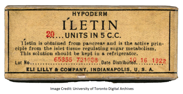 Reminder: Eli Lilly Has Been Exploiting T1Ds Since 1922