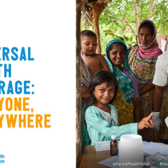 World Health Day: Universal Health Coverage (#healthforall)