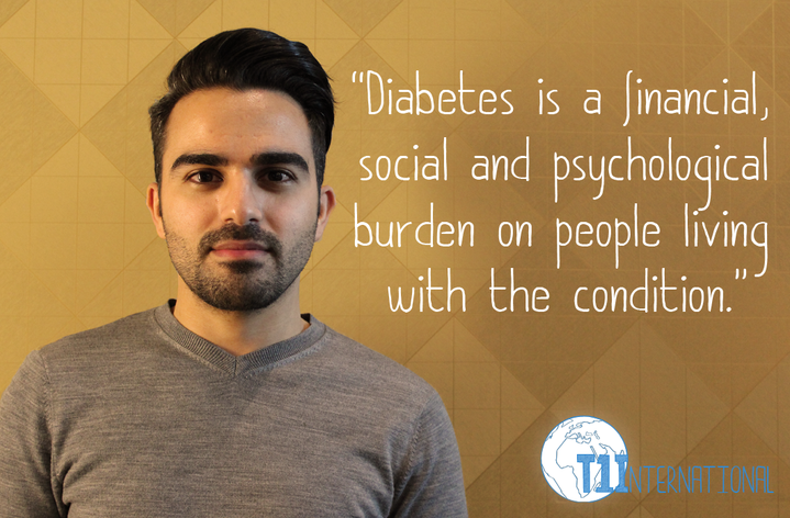 Moh in Kuwait says: Diabetes is a financial, social and psychological burden on people living with the condition.