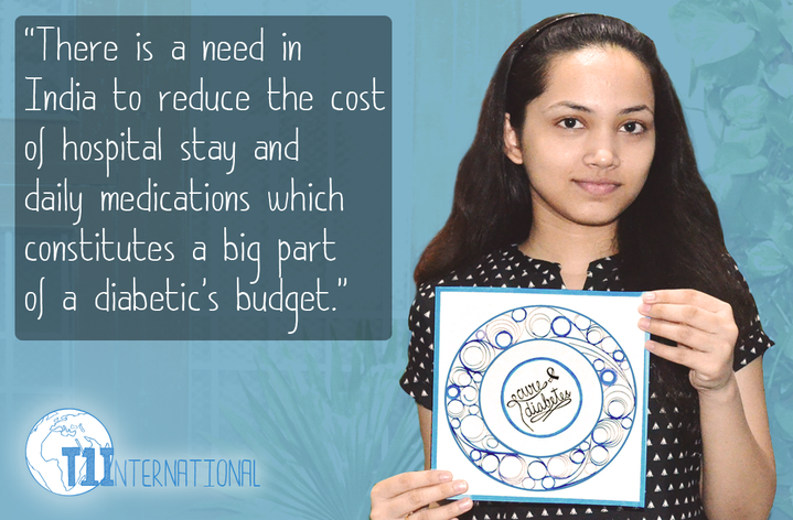 Reetika in India says: There is a need in India to reduce the cost of hospital stay and daily medications which constitutes a big part of a diabetic's budget.