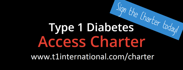 Sign the Type 1 Diabetes Access Charter